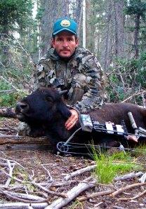 Kyran Keisling, archery hunting,
